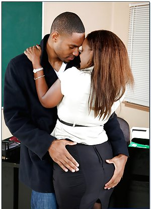 Black Teachers Porn With Captions -